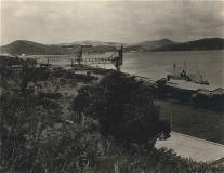 Vintage photo of the dock
